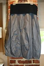 Elemente Clemente gray skirt, high fashion designer skirt size, size 3, size M/L