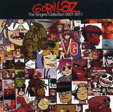 GORILLAZ - THE SINGLES COLLECTION - 2001 - 2011 - NEW CD!!