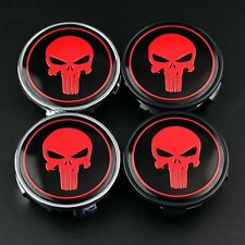"4pc 62mm Skull Wheel Center Cap for Camry Avalon Solara 16"" Wheel 42603-AC020"
