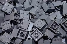 NEW LEGO Dark Gray 2x2 Bricks Lot 100 Building Pieces 3003