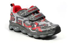 Geox J Tuono Mesh Athletic Sport Sneakers (Toddler) Size 10.5 EUR 28