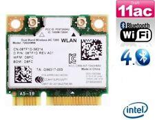 + Intel Dual Band 7260AC 7260HMW 5GHz 867Mbit/s WLAN+Bluetooth Mini PCIe +