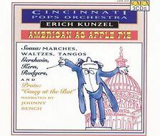 American as Apple Pie by Cincinnati Pops Orch Erich Kunzel (Conductor) 3 CD Box