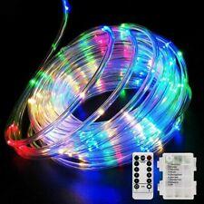 5M 50 LED Outdoor Tube Rope Strip String Light RGB Lamp Xmas Home Decor  H W