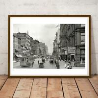 34x19 Inch New York America 32 Art Print