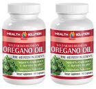 OREGANO OIL, WILD MEDITERRANEAN (2 BOTTLES, 120 CAPSULES)