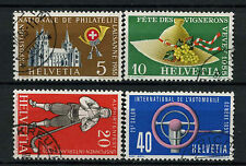 Switzerland 1955 SG#558-561 Publicity Issue Used Set #A69949