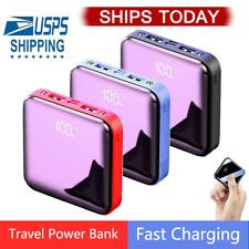 20000mAh Power Bank UltraThin USB Portable External Battery Backup Charger
