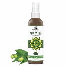 AromaMusk USDA Organic 100% Pure Cold Pressed Neem Oil For Hair, Skin -100 ML
