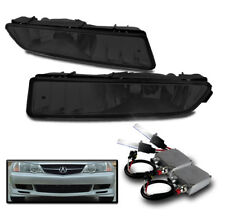 2002-2003 ACURA TL SMOKE FRONT BUMPER DRIVING FOG LIGHTS KIT+50W 8000K XENON HID