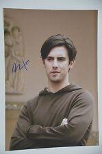 Milo Ventimiglia SIGNED 20x30cm Heroes foto autografo/Autograph in persona