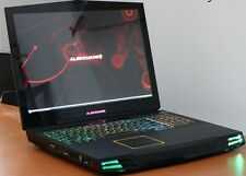 """Dell Alienware M17x Intel 2.40GHz - 8GB - 2 x 750GB HDD - Win10 17.3"""" HD Laptop"""
