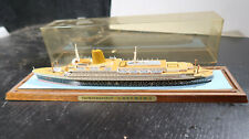 Enamel Ashtray Dish from the North German Lloyds TS BREMEN Cruise Ship \u2014 c1957