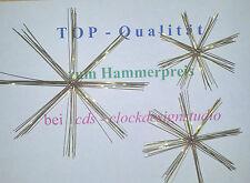 5,10 oder 20 DRAHTSTERNE 7 Groessen zur Auswahl Perlen Stern wire pearl stars