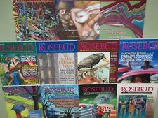 Lot of 11 ROSEBUD MAGAZINES 1996-2004 Back Issues WRITERS & Writing