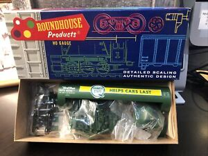 ROUNDHOUSE HO SCALE 50' QUAKER STATE TANK CAR #1392 BRAND NEW!!