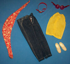 Vintage Skipper BEST BUY FASHION #3372 Fun Runners Jeans Scarf Sunglasses Shoes