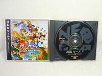 ADK WORLD Neo Geo CD Neogeo SNK Import JAPAN Video Game ncd