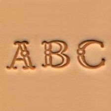 Alphabet Stamp Set 3/8 inch (1 cm) Fancy (4907-00) White Bear Leather