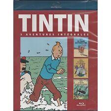 TINTIN -  3 AVENTURES -  BLU RAY NEUF