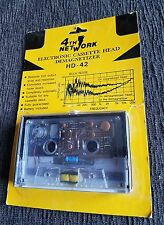 NEW NOS 4TH NETWORK Cassette Tape Electronic Head Demagnetizer HD-42