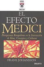 El Efecto Medici: Percepciones Rompedoras en la Interseccion de Ideas, Conceptos