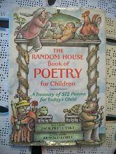 The Random House Book of Poetry for Children (Jack Prelutsky, 1983 HCDJ)