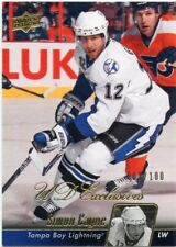 10/11 UPPER DECK UD EXCLUSIVES #429 SIMON GAGNE 007/100 LIGHTNING *46855