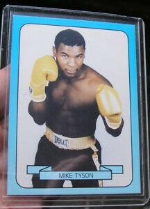 1990 Mike Tyson Living Legend Boxing Card Series 1 #18 Very Nice Condition