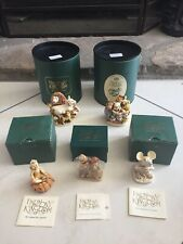 5 Harmony Kingdom Lot Disney Pooh Behold the King Bride & Groom Pumpkinfest Box