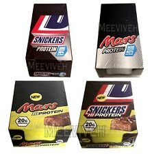 BOOST, SNICKERS, MARS PROTEIN CHOCOLATE BARS (3/6/18 BARS) ORIGINAL FRESH STOCK