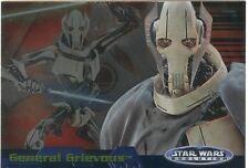 "Star Wars Evolution Update Evolution ""A"" Chase Card 8A General Grievous"