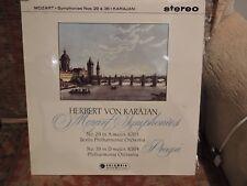 MOZART SINFONIE n. 29 & 38 Karajan STEREO COLUMBIA SAX2356 freeukpost