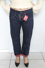 M&F GIRBAUD first boyfriend lisiera jeans denim T W27 - NUEVO precio tienda