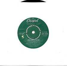 """VOICES OF WALTER SCHUMANN - CHRISTMAS IN THE AIR - EP 7"""" 45 VINYL RECORD 1956"""