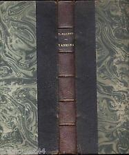 Yasmina roman arabe Valensi envoi d'auteur relié + photo 1927