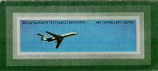 AEROFLOT AIR TRAVELLERS GUIDE VINTAGE BROCHURE