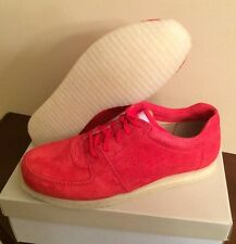 Ronnie Fieg x Clarks Kildare Poppy Red Sz 10 Kith Salmon, 500 Pairs Made DS