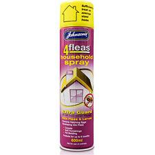 Johnsons 4Fleas Household IGR Extra Flea KIller Spray Treatment - 600ML 6 Months