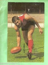 1965   MELBOURNE MOBIL VFL AUSTRALIAN RULES CARD #27  HASSA MANN
