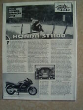 1990 HONDA ST1100 ***ORIGINAL ARTICLE*** SPORT TOURING