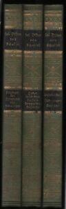 Joseph Victor von Scheffel: Sämtliche Werke (3 Bände)  um 1920