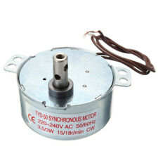 AC 220-240V Turntable Synchronous Motor 15/18r/min 3.5/3W CW