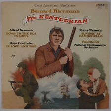 THE KENTUCKIAN: Bernard Herrmann, Americana Film Score Scountrack Rare Vinyl LP
