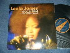 "LEELA JAMES PETE ROCK C.L.SMOOTH USA UPA-3071-1 12"" GOOD TIME  ship from JAPAN"