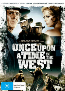 ONCE UPON A TIME IN THE WEST (1968) [NEW DVD]