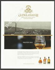 GLENGLASSAUGH Highland Single Malt Scotch Whisky Print Ad