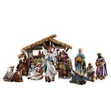 "12 Piece Bethlehem Nights Nativity Scene 6.5"" Figures Gift Boxed"