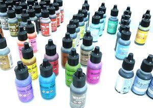 Ranger Alcohol Inks 0.5oz 14ml Bottles by Tim Holtz, StazOn Refill Bottle