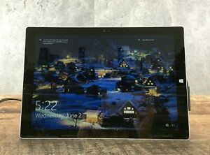 """Microsoft Surface Pro 3 i5-4300U 8GB DDR3 256GB SSD/M.2 12"""" Screen HD *READ*"""